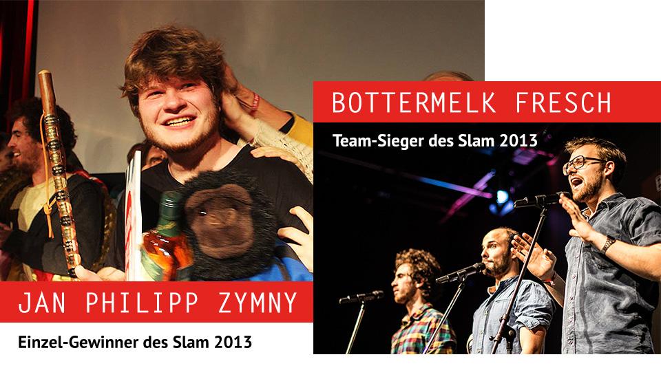 Jan Philipp Zymny gewinnt den Slam 2013 in Bielefeld
